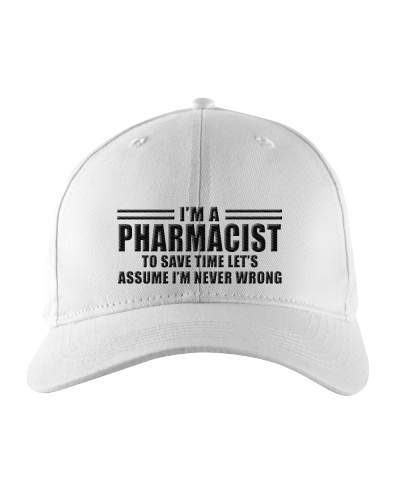 I'm A Pharmacist To Save Time