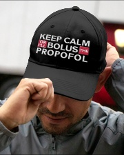 Keep Calm Or I Will Bolus The Propofol Anesthesia Embroidered Hat garment-embroidery-hat-lifestyle-01