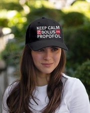 Keep Calm Or I Will Bolus The Propofol Embroidered Hat garment-embroidery-hat-lifestyle-07