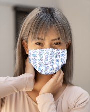 Vet Pattern Cloth Face Mask - 5 Pack aos-face-mask-lifestyle-18