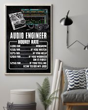 Audio Engineer Hourly Rate 11x17 Poster lifestyle-poster-1