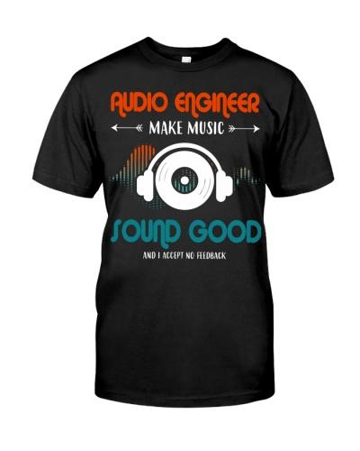 Audio Engineer Make Music Sound Good