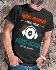 Audio Engineer Make Music Sound Good Classic T-Shirt lifestyle-mens-crewneck-front-4