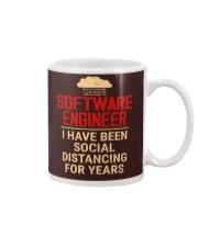 Software Engineer Social Distancing1 Mug thumbnail