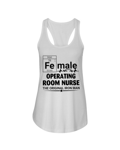 Female Operating Room Nurse