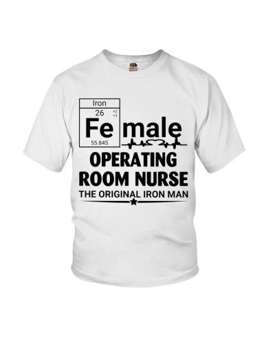 Female Operating Room Nurse