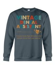 Vintage Dental Assistant Knows More Than She Says Crewneck Sweatshirt thumbnail