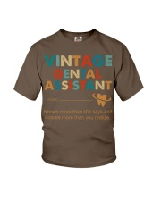Vintage Dental Assistant Knows More Than She Says Youth T-Shirt thumbnail