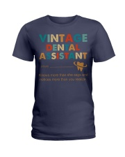 Vintage Dental Assistant Knows More Than She Says Ladies T-Shirt thumbnail