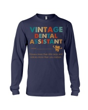 Vintage Dental Assistant Knows More Than She Says Long Sleeve Tee thumbnail