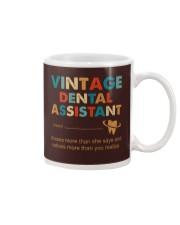 Vintage Dental Assistant Knows More Than She Says Mug thumbnail