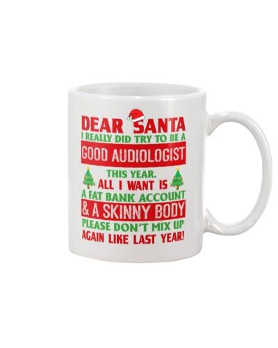 Dear Santa Good Audiologist