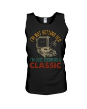 Just Becoming A Classic Vinyl Records Unisex Tank thumbnail