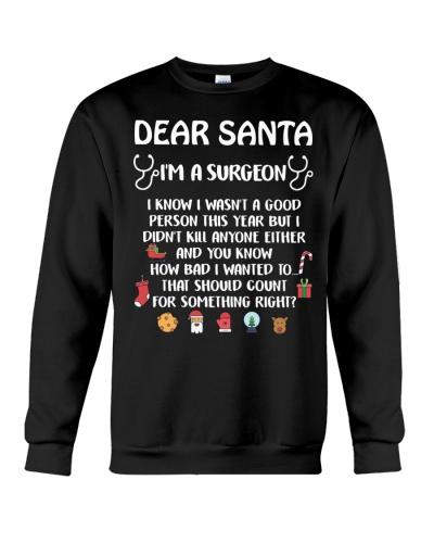 Dear Santa I'm A Surgeon
