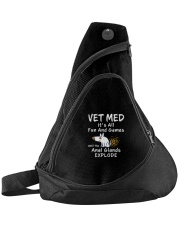 Vet Med Fun and Games Sling Pack Sling Pack front