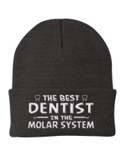 Best Dentist In Molar System Knit Beanie thumbnail