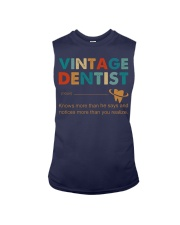 Vintage Dentist Knows More Than He Says Sleeveless Tee thumbnail