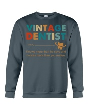 Vintage Dentist Knows More Than He Says Crewneck Sweatshirt thumbnail