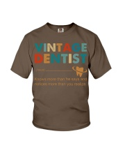 Vintage Dentist Knows More Than He Says Youth T-Shirt thumbnail