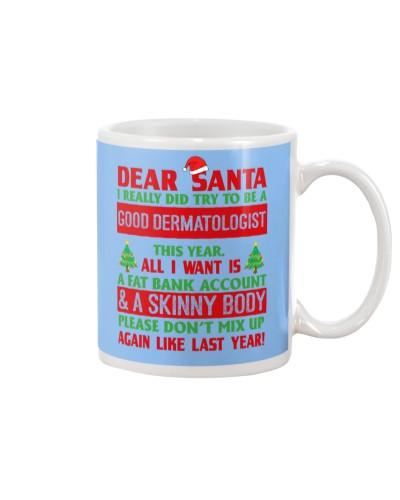 Dear Santa Good Dermatologist