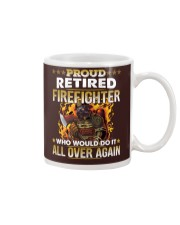 Proud Retired Firefighter Who Would Do It Mug thumbnail