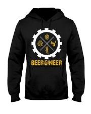 Beergineer Hooded Sweatshirt front