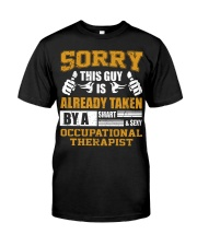 Sorry This Guy Taken By Occupational Therapist Premium Fit Mens Tee thumbnail
