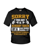 Sorry This Guy Taken By Occupational Therapist Youth T-Shirt thumbnail