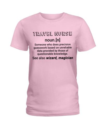 Travel Nurse Noun