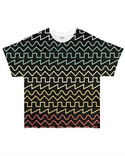 Audio Waveform All-over T-Shirt front