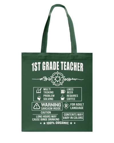 Multi Tasking 1st Grade Teacher