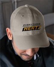 Everything Hertz Embroidered Hat garment-embroidery-hat-lifestyle-02