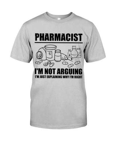 Pharmacist I'm Not Arguing