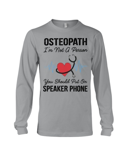 Osteopath Not A Person Speaker Phone