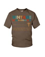 Vintage Rheumatologist Knows More Than She Says Youth T-Shirt thumbnail