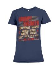 Grumpy Engineer Do What I Want Premium Fit Ladies Tee thumbnail