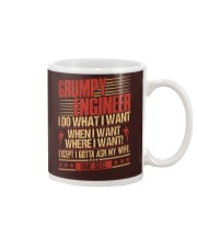 Grumpy Engineer Do What I Want Mug thumbnail