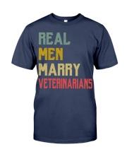 Real Men Marry Veterinarians Premium Fit Mens Tee thumbnail