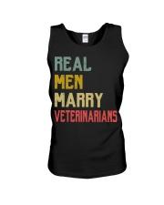 Real Men Marry Veterinarians Unisex Tank thumbnail