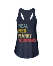 Real Men Marry Veterinarians Ladies Flowy Tank thumbnail