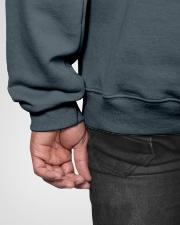 Real Men Marry Veterinarians Hooded Sweatshirt garment-hooded-sweatshirt-detail-back-hip-02