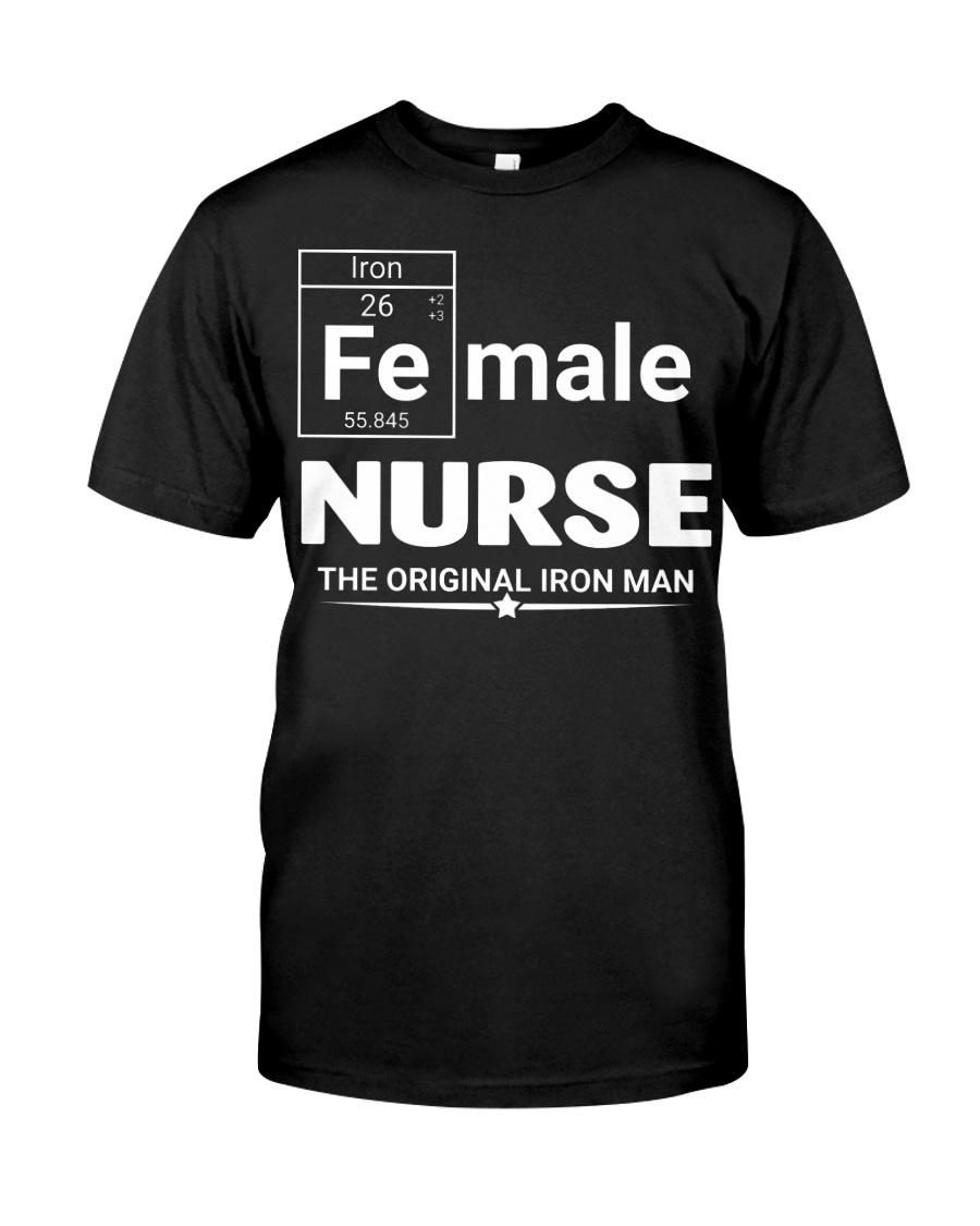 Female Nurse Classic T-Shirt