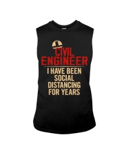 Civil Engineer Social Distancing For Years Sleeveless Tee thumbnail