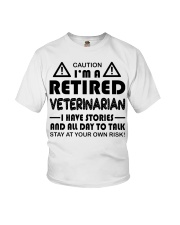 Retired Veterinarian Have Stories and All Day Youth T-Shirt thumbnail