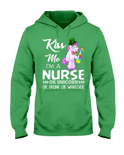 Kiss Me I'm Nurse Or Unicorn