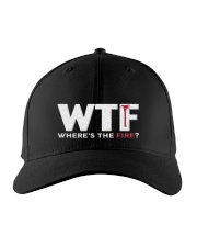 Where's The Fire Embroidered Hat front