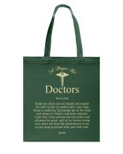 A Prayer For Doctors Tote Bag thumbnail