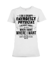 I Am A Grumpy Emergency Physician Premium Fit Ladies Tee thumbnail