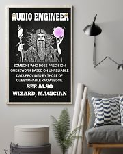 Audio Engineer See Also Wizard Magician 11x17 Poster lifestyle-poster-1