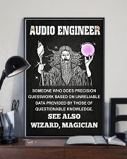 Audio Engineer See Also Wizard Magician 11x17 Poster lifestyle-poster-2